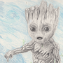 Baby Groot by Jonesy1970