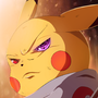 """pikachu evolves-""""LEVEL CAP"""" draw with jazza challenge of the month by huhikaiss"""