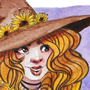 Sunflower Witch by Rowyn25