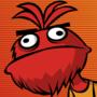 The Stubborn Not-Elmo by eKarasz