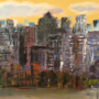 City in late afternoon by RossMoonpig