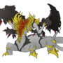 Giratina Gaping Dragon by CStandsFor