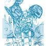 sketch c3p0 lvl99 ResG by RodrigoSurez