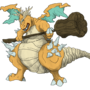Asylum Dragonite by CStandsFor