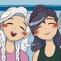 Avery and Eris by ChibiAshley
