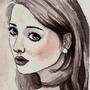 Ink sketch #2 by kacenace