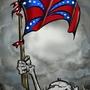 rebel flag by wrattie