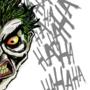 Joker Scribble Sketch by BDMeyers