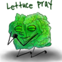 Lettuce Pray by GoldenYakStudio