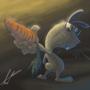 Badass Rabbit by fabianlpineda