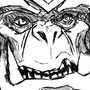 Gul'dan outlines - Warcraft fanart by Iviqrr