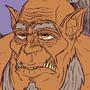 Mag'har Orc flat colors - Warcraft
