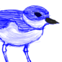 Small Bird Sketch by SynthSoda