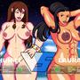 Chun-Li vs. Laura by ActiveAllen