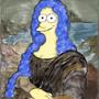 Marge by Leonardo. by EvanSilcox