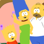 Simpsons southpark