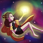 Galaxy Goddess by ChibiAshley