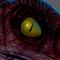 Male Velociraptor Digital Painting (The Lost World: Jurassic Park Fan-Art)