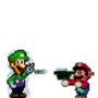 death to luigi! by dementedstickfigure