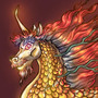 Golden Dujiao Qilin Profile by BlackUniGryphon