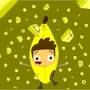 bananagram man! by milkandpie