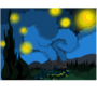 Starry Night in Springfield by Chocolatemonstery
