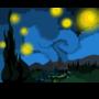 Starry Night in Springfield by Chocolatemonstery