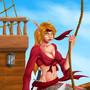 Pirate Shalis by GeneralBloodrain