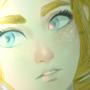Princess Zelda (BOTW) by abacadaba