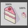 Cake......Yeah, just cake.