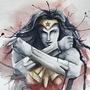 Wonder woman fan art by BaldSiren