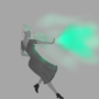 Girl with green fire / 06.17 by GirlAround