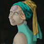 Pearl With a Pearl Earring by NikolaDrawsStuff