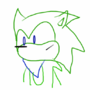 Shader the Hedgehog (My Fan Character/OC) by pwsf2Plays