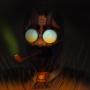 Bordo: 1st drawing of my larp character by akaking