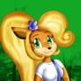 Coco Bandicoot by KendraTheShinyEevee