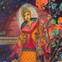 Cosmic girl by RossMoonpig