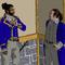 Alexander Hamilton Converses With Lafayette