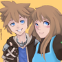 Sora and OC