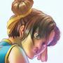 Chun li pinup by Modaw