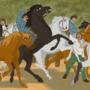 The Horse Fair - Disney style