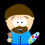 Bob Ross (South Park Art Style) by Blackbolt2099