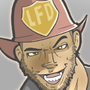 Pinup Prims: Fireman by FleckoGold