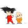 Goku x Kuririn by Micah-Myers