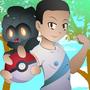 Commission: Avatar + MArshadow by EduardoMartnezGonzle