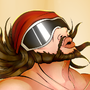 Macho Man Randy Savage by PsychoMonki