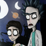 COTM StyleSwap - Rick and Morty To Tim Burton - by HelloThereItsPau