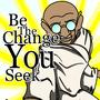 Gandhi illustration by JtheAnimator