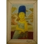 Marge Simpson X Mona Lisa by ornissim