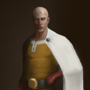 COTM Jazza - Style Swap - Saitama aka One Punch Man by ParadoxArt